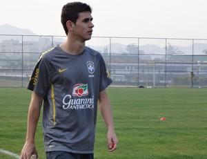 oscar seleção brasileira sub 20 (Foto: Victor Canedo/Globoesporte.com)