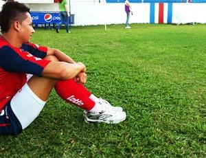 Vavá faz primeiro treino no Pici (Foto: Roberto Ranulfo/GLOBOESPORTE.COM)
