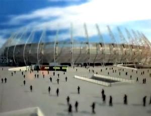 FRAME tour estádio Castelão 2014 (Foto: Reprodução)