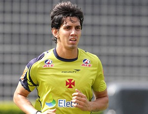 Victor Ramos no treino do Vasco (Foto: Marcelo Sadio / Site Oficial do Vasco)