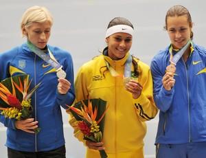 ana silva ouro atletismo jogos mundiais militares  (Foto: Dhavid Normando / Photocamera)
