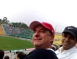 Americano Douglas Austin, torcedor do Corinthians  (Foto: Divulgação)