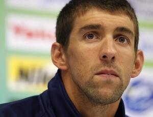 Michael Phelps, em Xangai (Foto: EFE)