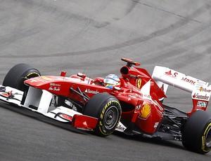 Alonso no GP da Alemanha (Foto: Reuters)