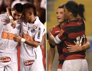Neymar/Ganso e Ronaldinho/Thiago Neves