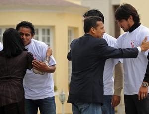 Ollanta Humala seleção peru (Foto: EFE)