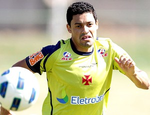 Eder Luis no treino do Vasco (Foto: Marcelo Sadio / Site Oficial do Vasco)