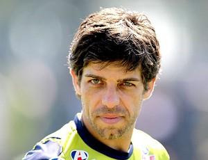 Juninho Pernambucano no treino do Vasco (Foto: Marcelo Sadio / Site Oficial do Vasco)