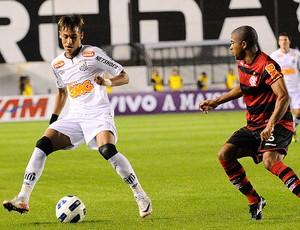 Neymar Santos x Flamengo (Foto: Ag. Estado)