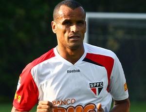 Rivaldo no treino do São Paulo (Foto: Luiz Pires / VIPCOMM)
