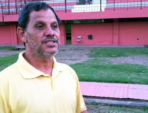 Robson Santana, presidente da Desportiva Ferroviária (Foto: Guido Nunes/Globoesporte.com)