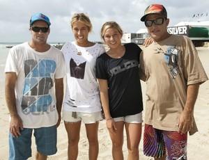 Surfe Tom Curren Michael Ho filhas (Foto: Arquivo pessoal)