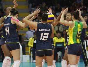 Seleção juvenl feminina de vôlei (Foto: Divulgação/CBV)
