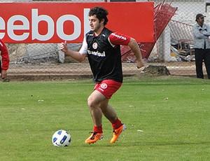 Internacional Falcão treino Lucas Roggia  Marquinhos (Foto: Alexandre Lops/Site Oficial Internacional)