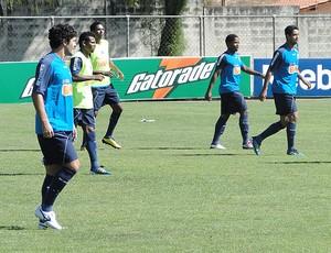 Ortigoza treino Cruzeiro (Foto: Leonardo Simonini / Globoesporte.com)