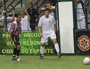 Santos e São Paulo no showbol (Foto: Divulgação)
