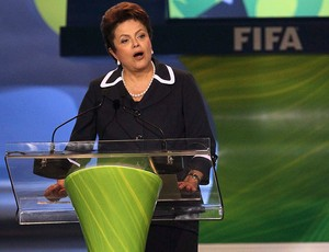 dilma rousseff sorteio da copa do mundo 2014 (Foto: Agência Reuters)