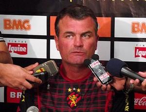 mazola junior treinador do sport  (Foto: Divulgação / Site oficial do Sport-PE)