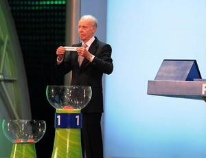 zagallo sorteio copa do mundo 2014 (Foto: André Durão/Globoesporte.com)