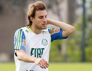 Henrique treino Palmeiras (Foto: Ag. Estado)