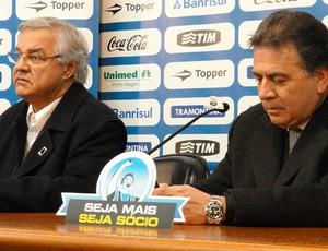 Paulo Pelaipe e Paulo Odone (Foto: Eduardo Cecconi/Globoesporte.com)
