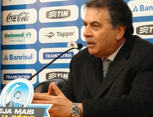 Paulo Pelaipe no Grêmio (Foto: Eduardo Cecconi/Globoesporte.com)