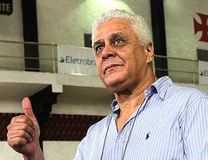 Roberto Dinamite durante as eleições do Vasco (Foto: Marcelo Sadio / Site Oficial do Vasco)