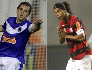 Montillo e Ronaldinho