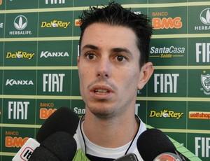 Alessandro, atacante do América-MG (Foto: Valeska Silva / Globoesporte.com)