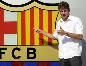 keirrison barcelona (Foto: agência AFP)