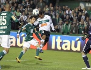 Coritiba em partida contra o Palmeiras (Foto: Divulgação/Coritiba)