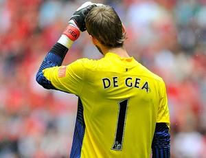 de gea manchester united manchester city supercopa da inglaterra (Foto: Agência Reuters)