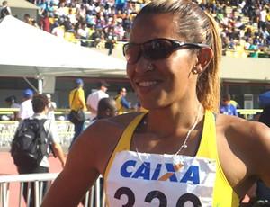 atletismo  Jailma Sales de Lima no trofeu brasil (Foto: Amanda Kestelman / Globoesporte.com)