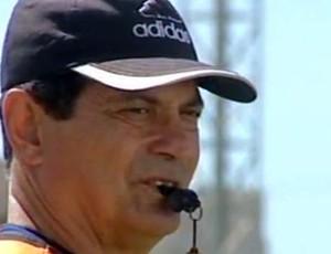 Luizinho Rangel, técnico do São Mateus (Foto: Reprodução/TV Gazeta Norte)