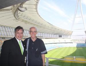 Miguel Neto e prefeito de Durban (Foto: Reprodução / Arquivo Pessoal)