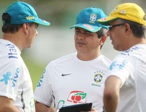 Ney Franco e comissão técnica seleção sub-20 (Foto: Rafael Ribeiro / CBF)