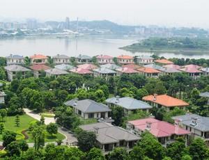 Conca condomínio  Guangzhou (Foto: Lydia Gismondi/Globoesporte.com)