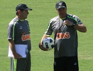 cuquinha cuca atlético-mg treino (Foto: Lucas Catta Prêta / Globoesporte.com)