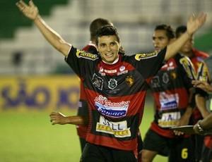 comemoração jogadores guarani de juazeiro (Foto: Divulgação)