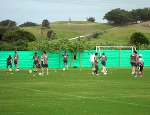 treino da Seleção sub-20 na Colômbia (Foto: Victor Canedo / GLOBOESPORTE.COM)