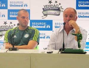 Luiz Felipe Scolari felipão deola palmeiras (Foto: Diego Ribeiro/Globoesporte.com)
