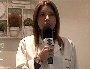 frame vídeo - maratona corrida nutricionista (Foto: TV Globo)