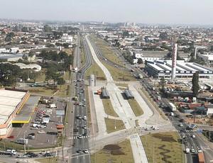 Paraná obras estádio copa do mundo (Foto: Divulgação)