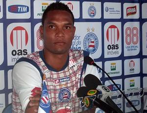 thiego zagueiro do bahia (Foto: Eric Luis Carvalho/Globoesporte.com)