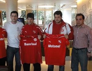 torcedores de Internacional e Independiente (Foto: Alexandre Alliatti/Globoesporte.com)