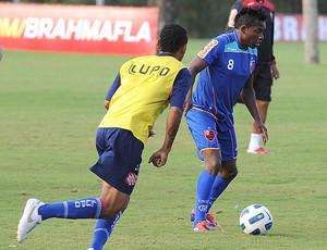 Willians jogo treino Flamengo (Foto: Alexandre Vidal / Fla imagem)