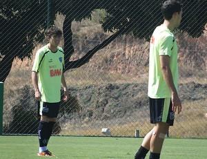 Fillipe Soutto Atlético-MG bernard (Foto: Lucas Catta Prêta/Globoesporte.com)