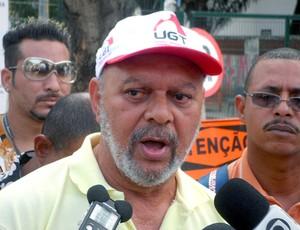 reunião de greve no Maracanã (Foto: Felippe Costa / GLOBOESPORTE.COM)