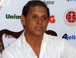 Róbson Santana, presidente da Desportiva Ferroviária (Foto: Igor Gonçalves/Globoesporte.com)