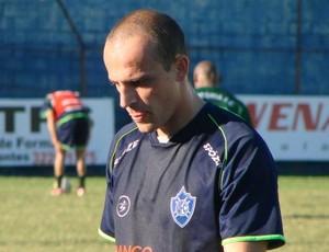 Zanini, volante do Vitória-ES (Foto: Igor Gonçalves/GloboEsporte.com)